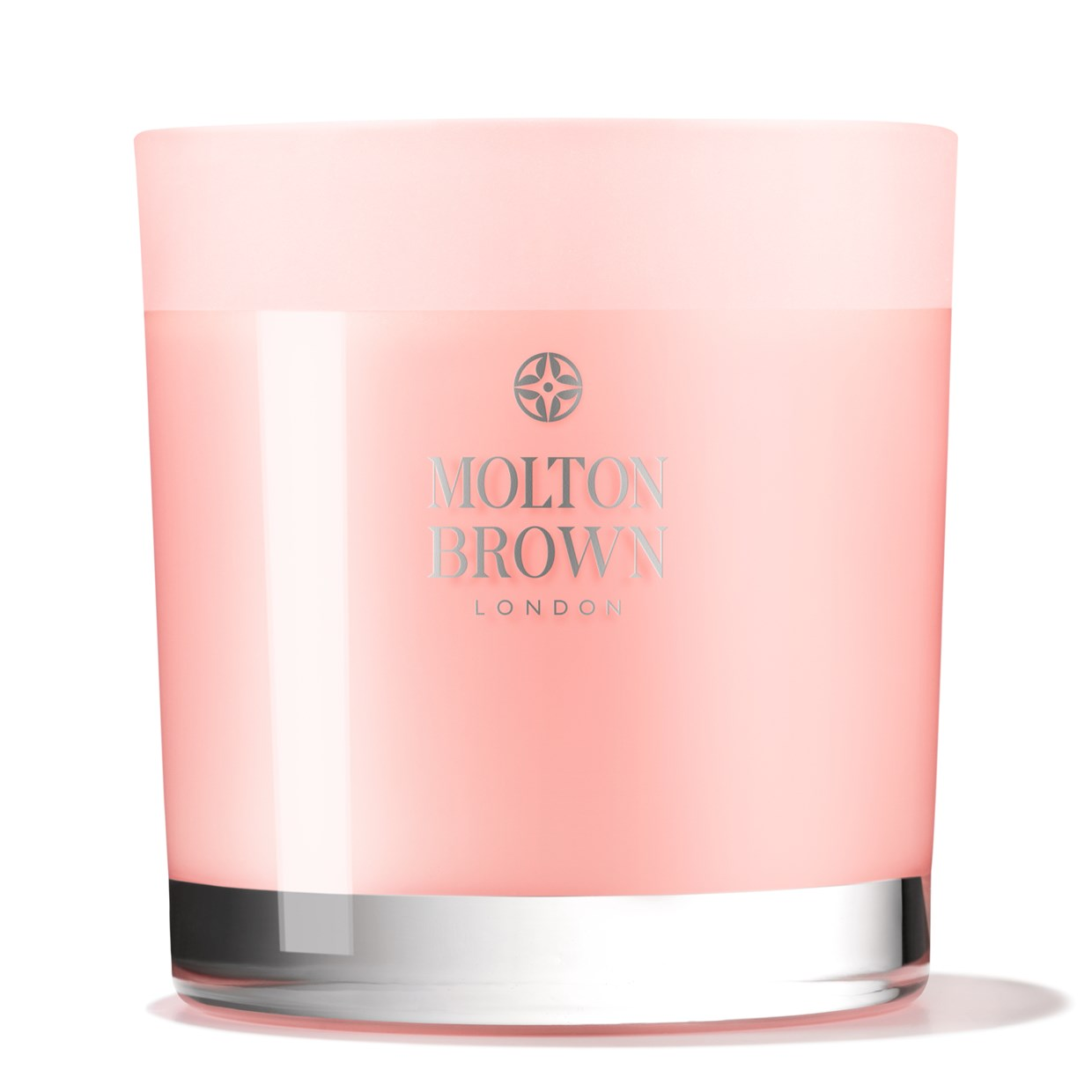Home Fragrance Delicious Rhubarb & Rose Three Wick Candle - 0