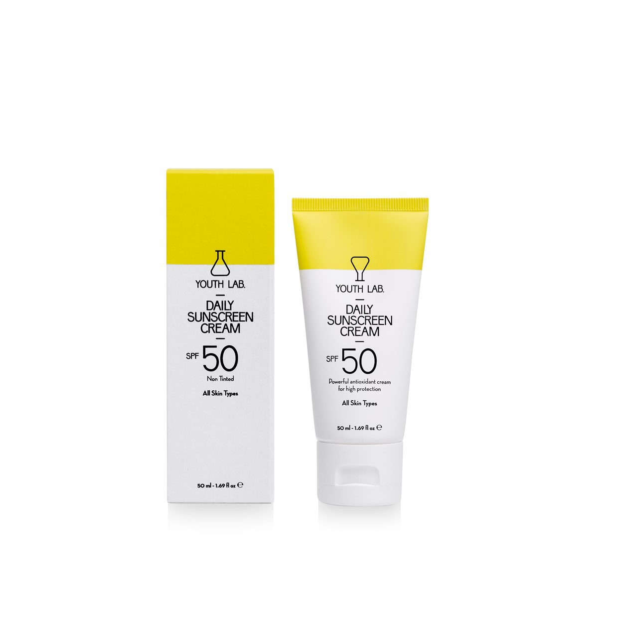 Daily Sunscreen Cream All Skin Types - 0