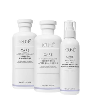 Care Line Absolute Volume Shampoo + Conditioner + Protector