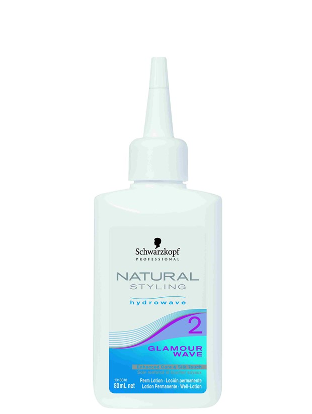 Professional Natural Styling Hydrowave Glamour Wave Perm Lotion