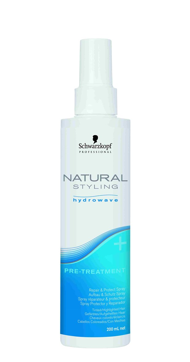 Professional Natural Styling Hydrowave Pre-Treatment
