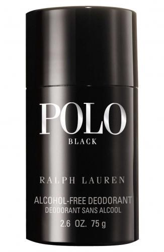 Polo Black Alcohol-Free Deodorant Stick