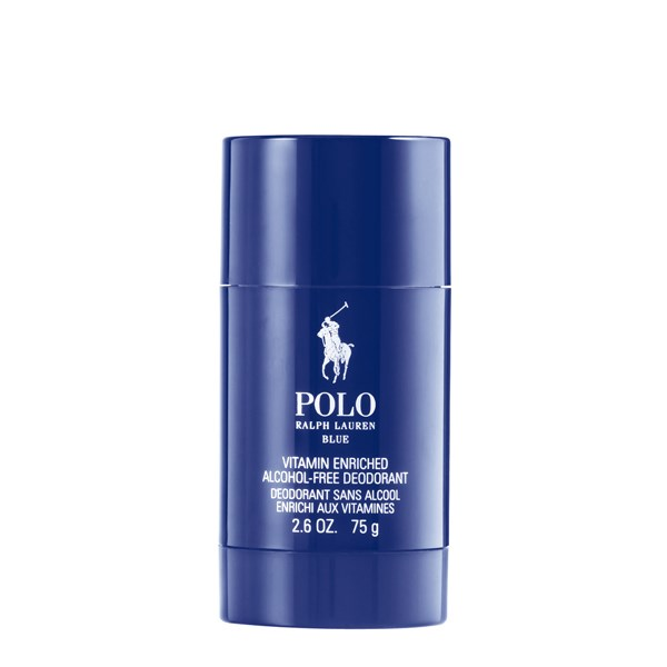 Polo Blue Vitamin Enriched Alcohol-Free Deodorant