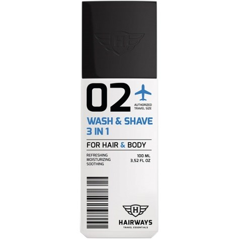 02 - Wash & Shave 3 in 1