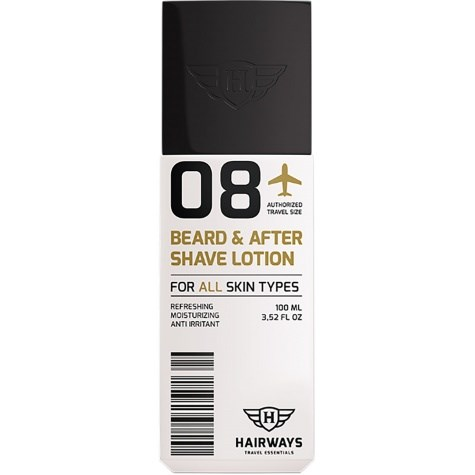 08 - Beard & After Shave Lotion