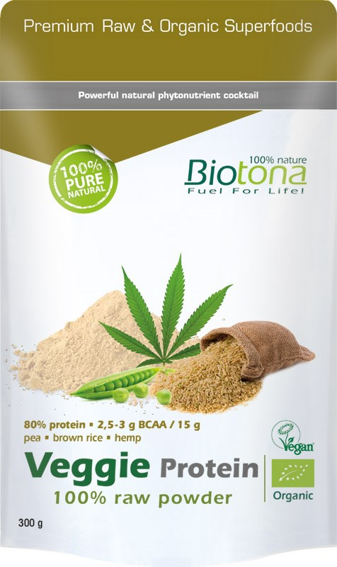 Superfoods Veggie Protein Raw Powder