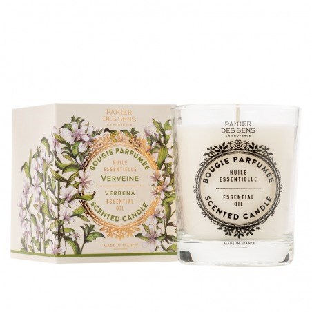 Energizing Verbena Scented Candle