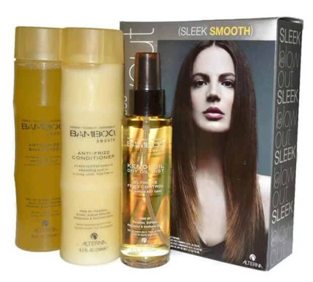 Bamboo Smooth Blowout Kit