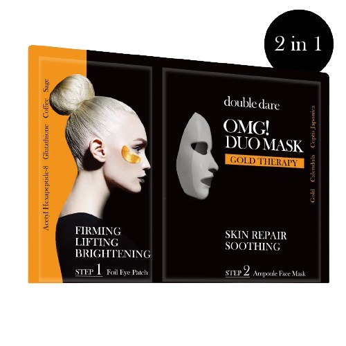 OMG! Spa Duo Mask-Gold Therapy