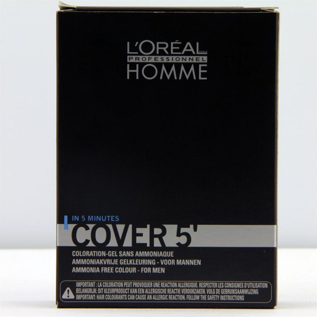Homme Cover 5' Coloration gel sans ammoniaque