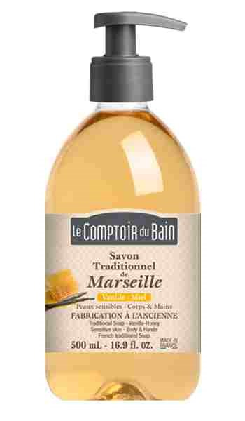 Vanille-Miel Traditional Soap