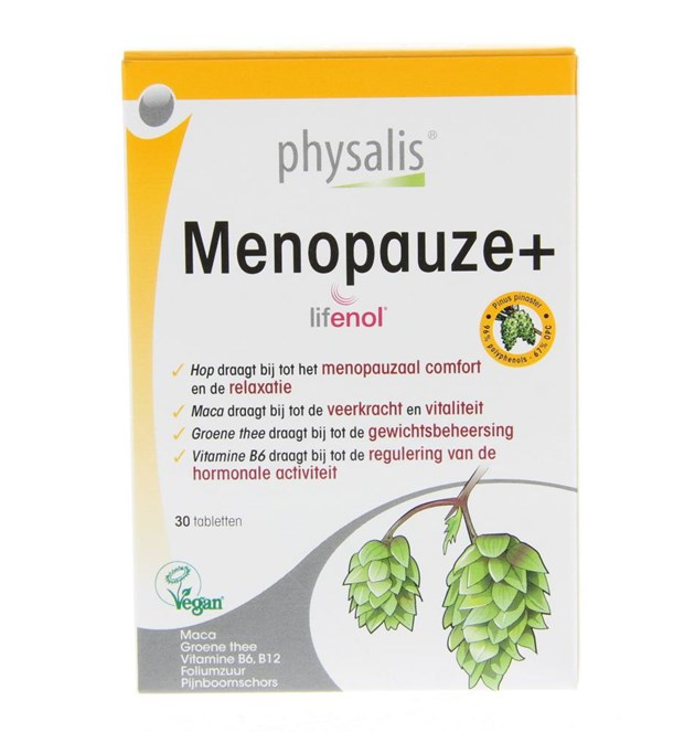 Supplementen Menopauze+