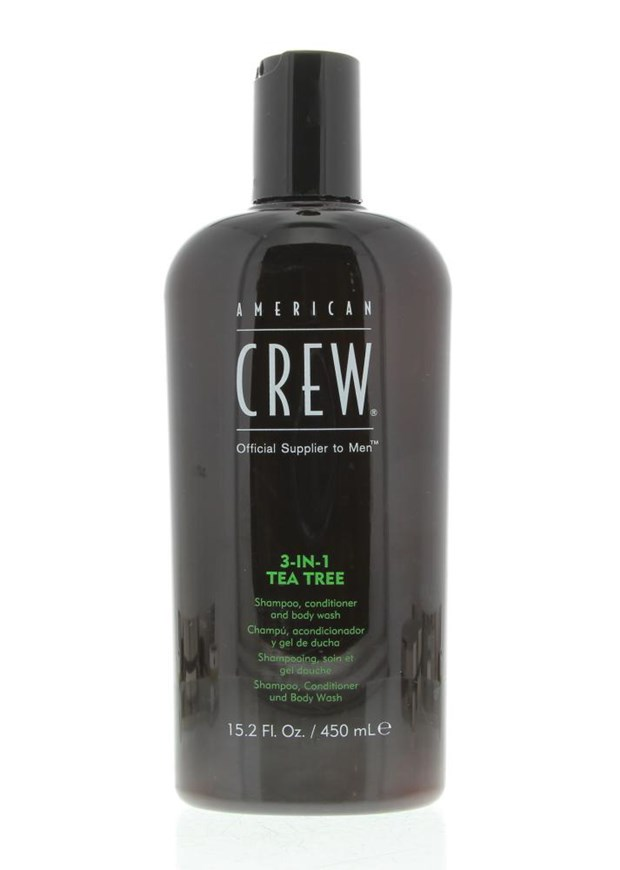 Hair Care & Body Hair & Scalp 3-in-1 Tea Tree