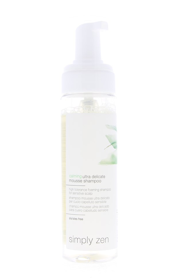 Calming Ultra Delicate Mousse Shampoo