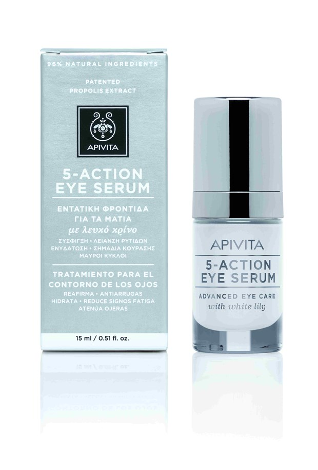 Face Care Eye Care 5-Action Eye Serum with White Lily