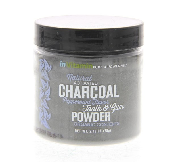 Natural Activated Charcoal Tooth Powder