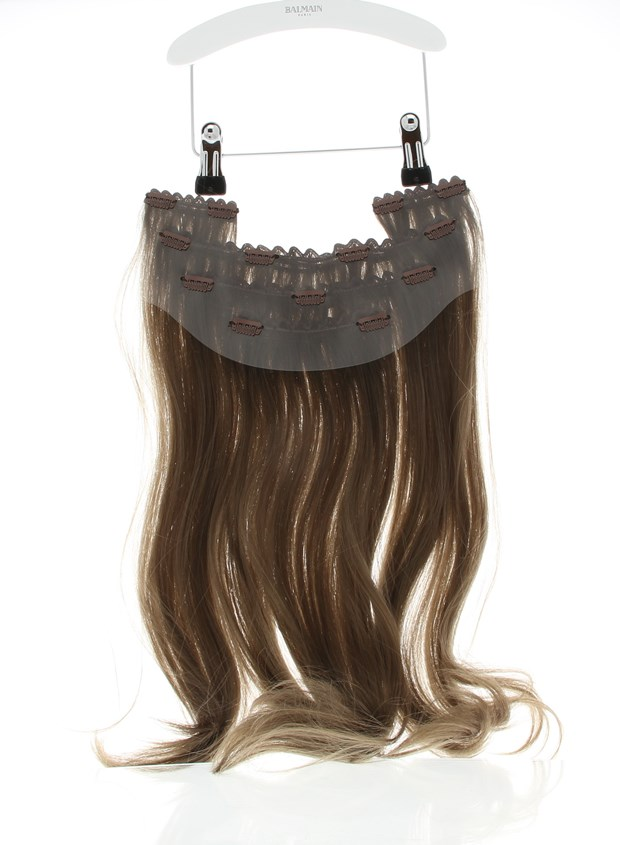 Memory Hair Clip-in Weft 45cm Extension