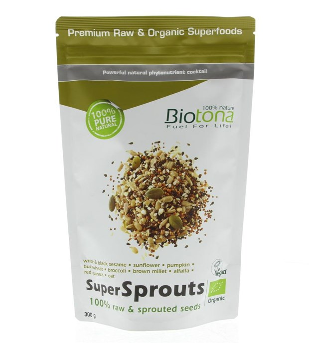 Superfoods Super Sprouts 100% Raw & Sprouted Seeds