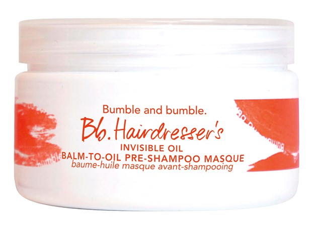 Cleanse & Condition Hairdresser's Invisible Oil Balm-to-Oil Pre-Shampoo Masque