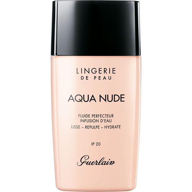 Face Make-up Lingerie de Peau Aqua Nude Water-Infused Perfecting Fluid 03W Natural Warm