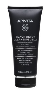 Face Care Cleansers Black Detox Cleansing Jelly
