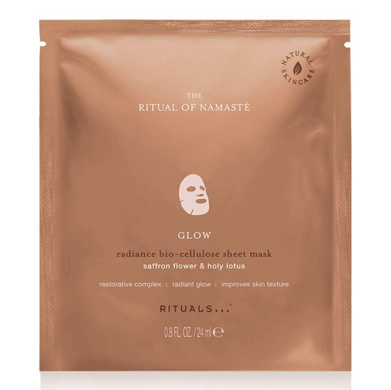 Namasté Glow Radiance Bio-Cellulose Sheet Mask