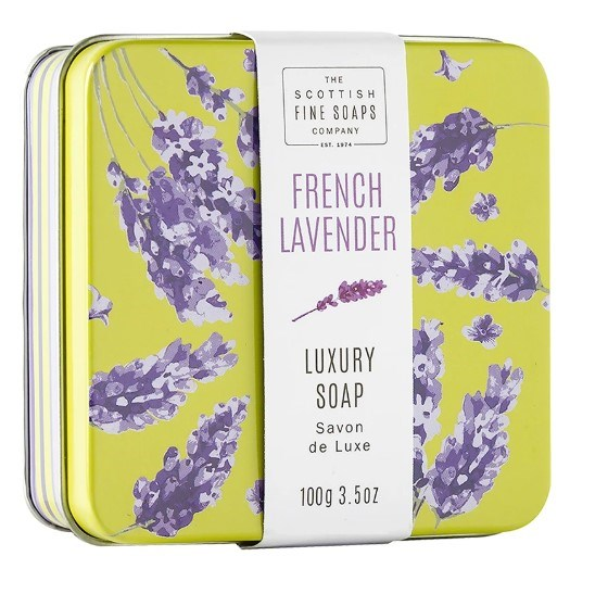 Soap in a Tin Floral French Lavender