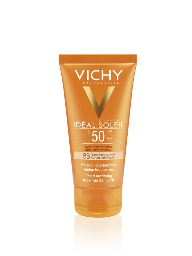 Idéal Soleil BB Tinted Dry Touch Face Fluid SPF50