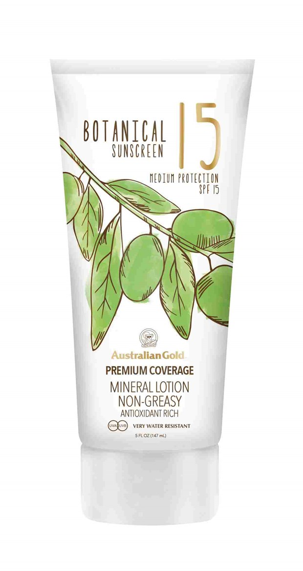 SPF Botanical Mineral Lotion Non-Greasy SPF15